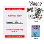 Naval War deck 2a - Playing Cards 54 Designs (Rectangle)