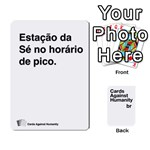 CAH8 - Playing Cards 54 Designs