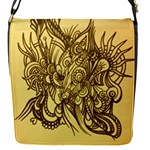 Removable yellow flap bag abstract - Removable Flap Cover (S)