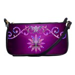 burgundy royal crown clutch purse - Shoulder Clutch Bag