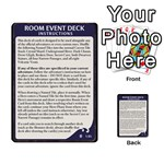 Lod Room Event Deck 1 quick - Multi-purpose Cards (Rectangle)