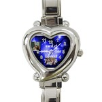 For Kelly - Heart Italian Charm Watch