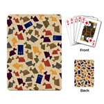 Tin Dogs and Police Boxes Playing Cards - Playing Cards Single Design