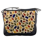 Tin Dogs and Police Boxes Messenger Bag
