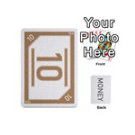 money cards deck 4 - Playing Cards 54 (Mini)