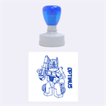 Optimus - Rubber Stamp Round (Medium)