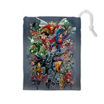 DC Comics Heroes Bag - Drawstring Pouch (Large)
