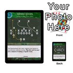 Football Offense Deck 02 - Multi-purpose Cards (Rectangle)