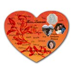 Bascom1 - Heart Mousepad