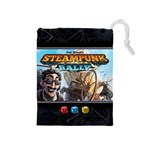 Steampunk Rally - Dice (M) - Drawstring Pouch (Medium)