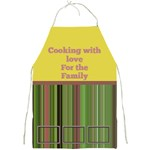 Cooking with love Full Apron - Full Print Apron