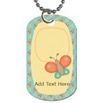 Birds N Bees Dog Tag - Dog Tag (One Side)