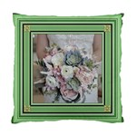 Green square standard cushion case (two sided) - Standard Cushion Case (Two Sides)