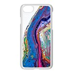 Stylized Rainbow - iPhone 7 Seamless Case (White)