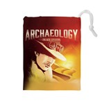 Archaeology - Drawstring Pouch (Large)