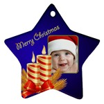 Jane My Little Star 2 Ornament (2 sided) - Star Ornament (Two Sides)