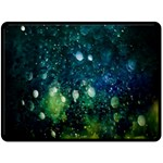 Abstract Bubbles - Small Fleece Blanket - Fleece Blanket (Large)