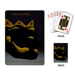 Black Kingz - Playing Cards Single Design (Rectangle)