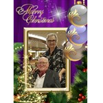 parents christmas 20192 - Greeting Card 5  x 7