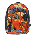 back pack - magical redwoods - School Bag (XL)