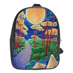 back pack - taos pow wow - School Bag (XL)