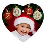 George Heart Ornament 2019 (2 sided) - Heart Ornament (Two Sides)