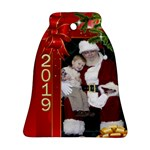 George Christmas Memories Bell Ornament (2 sided) - Bell Ornament (Two Sides)