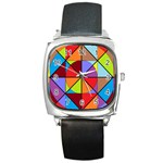 featuring Prism - Square Metal Watch