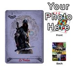 Tritium 451 proto - 54 Pirates différents Frelon Reine Sylvidre - Playing Cards 54 Designs (Rectangle)