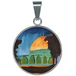 The Dome of The Rock - 25mm Round Necklace