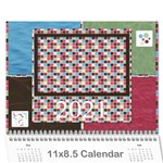 Bloop Bleep 2021 Calendar - Wall Calendar 11  x 8.5  (12-Months)