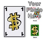 Money Cards - Playing Cards 54 Designs (Rectangle)