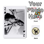 Dads WWII Deck - Playing Cards 54 Designs (Rectangle)