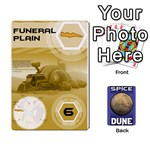 Dune Spice Deck - Playing Cards 54 Designs (Rectangle)