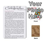 Cartographer2 of 2 - Playing Cards 54 Designs