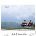 2010 Smoky Mountain Calendar - Wall Calendar 11  x 8.5  (12-Months)
