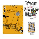 Support our troops - Playing Cards 54 Designs (Rectangle)