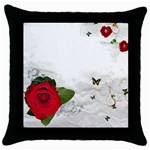 mojo8 - Throw Pillow Case (Black)