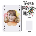Special 4 Numbers Version - Playing Cards 54 Designs