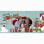 20 Christmas Cards $7.99 free postage 20xmas799 - 4  x 8  Photo Cards