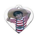 CharmS Hat - Dog Tag Heart (Two Sides)