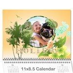 Holiday - Wall Calendar 11  x 8.5  (12-Months)