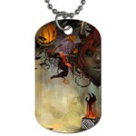 Gaia Halloween  - Dog Tag (One Side)