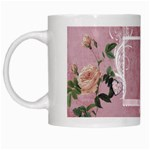 Roses & Ribbons Mug - White Mug