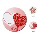 love Theme - Playing Cards (Round)