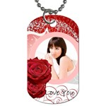 Love Tag - Dog Tag (Two Sides)
