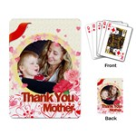 mother love - Playing Cards Single Design