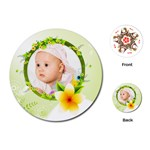 spring baby - Playing Cards Single Design (Round)