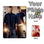 Supernatural Trading Cards (faces on) - Playing Cards 54 Designs (Rectangle)