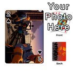 Team Funcom TCG [RED-Faces] - Playing Cards 54 Designs (Rectangle)